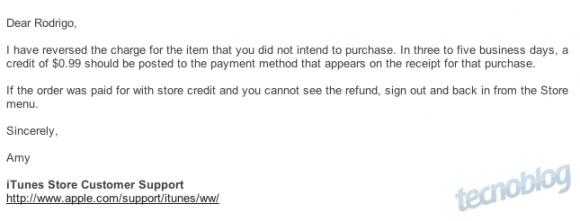 Exemplo do E-mail
